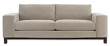 "Calypso 95"" Sofa in Range Fabric"