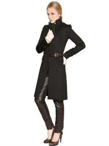 Cashmere Double Cloth Coat
