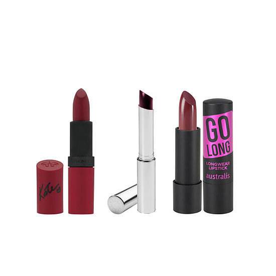 How to Wear Dark Plum or Dark Berry Lipstick