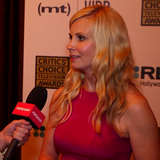 Monica Potter on Parenthood and Breast Cancer (Video)