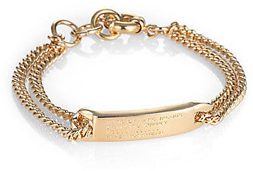 Marc by Marc Jacobs Double-Chain ID Bracelet