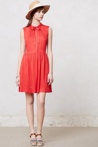 Scarlet Bowtie Dress