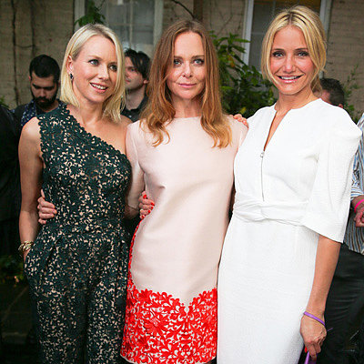Cameron Diaz at Stella McCartney's Spring Presentation
