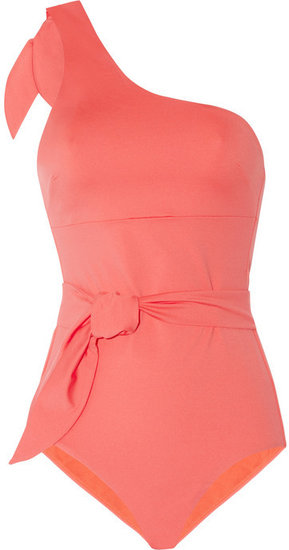 Violet Lake Caruso one-shoulder swimsuit