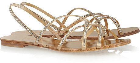 Pedro Garcia Elora crystal-embellished sandals