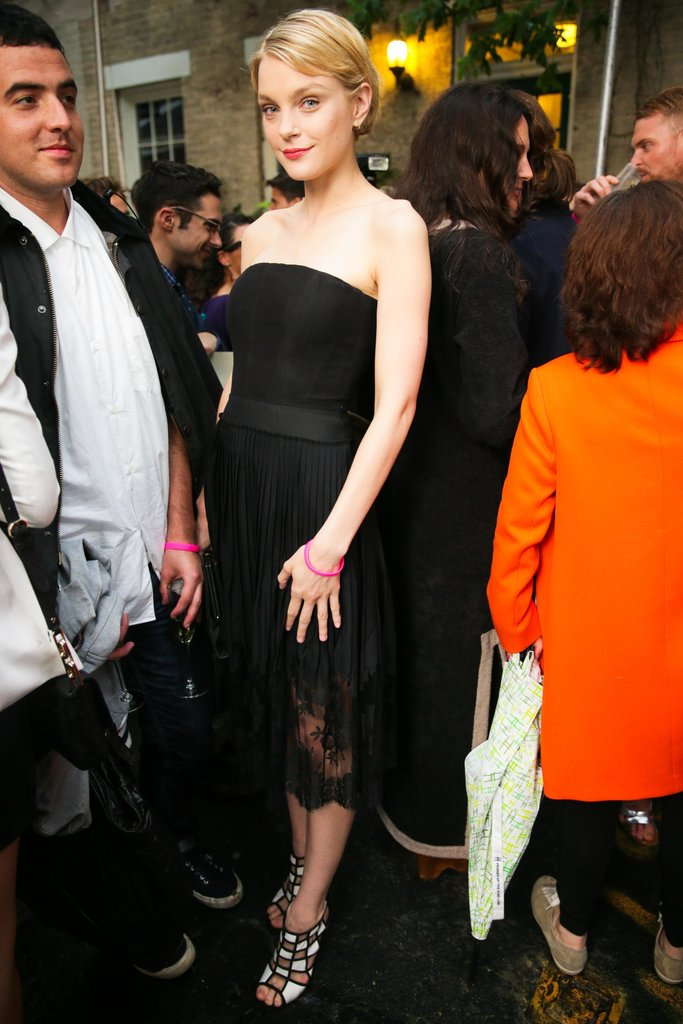 Jessica Stam at Stella McCartney's Resort 2014 presentation. Source: David X Prutting/BFAnyc.com