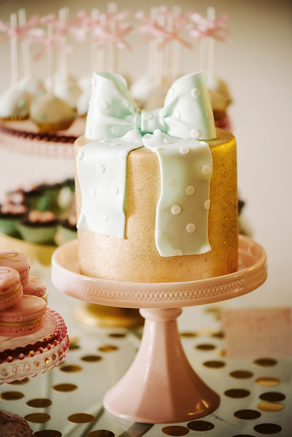 Mini Bow Cake  Add to the Birthday Sweetness With Marvelous Mini ...