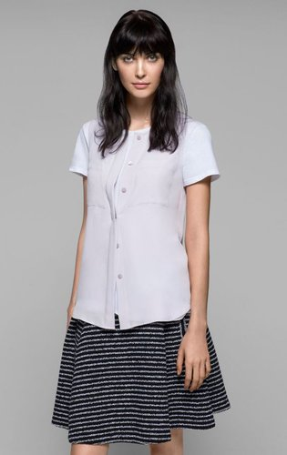 Eriel Double Georgette Blouse