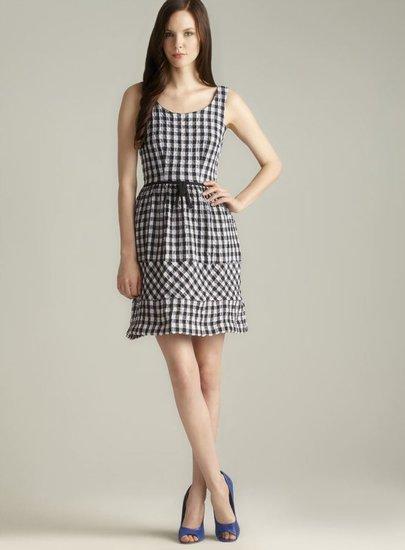 Taylor Checkered Tank Dress