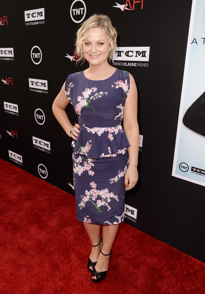 Amy Poehler's floral peplum dress was a breath of fresh air on the AFI Life Achievement Awards red carpet.