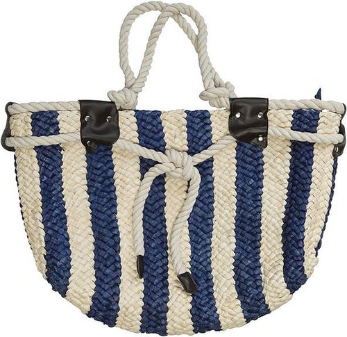 Mary Ann Striped Tote