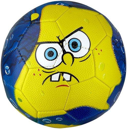 Franklin Sports Nickelodeon Sponge Bob Soccer Ball, Multicolor - Size 3