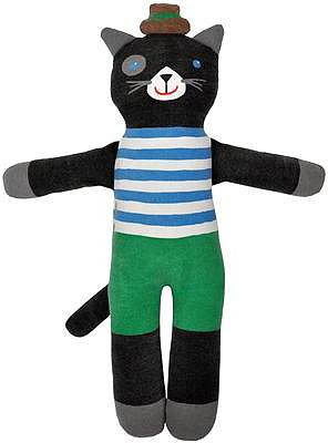 Lucky the Cat Cloth Doll by Blabla