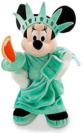Minnie Mouse Plush Toy - 18'' H - New York