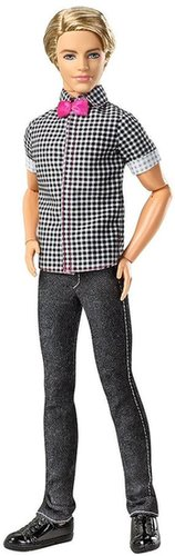 Barbie Fashionistas Ken Checkered Shirt Doll