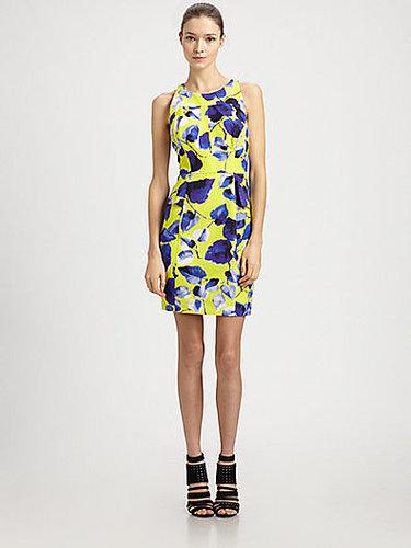 Milly Peplum Sheath Dress