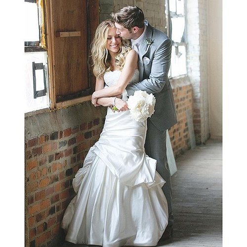 Kristin Cavallari and Jay Cutler tied the knot in Nashville at Jay's alma mater, Vanderbilt University, in June 2013. Source: Instagram user kristincavallari
