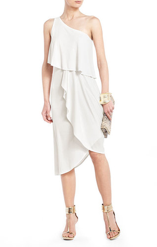 Katrina One-Shoulder Asymmetrical Evening Dress