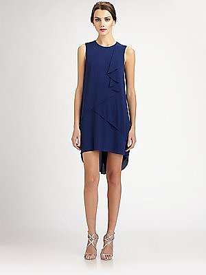 BCBGMAXAZRIA Women's Rainer Cascade Dress