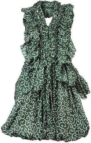 Harcoza Filigree print dress