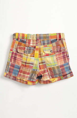Tucker + Tate 'Clover' Patchwork Shorts (Little Girls & Big Girls)
