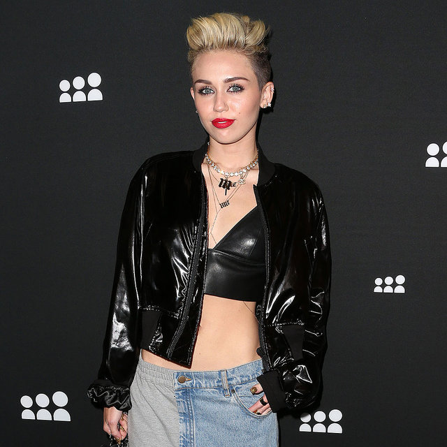 Miley Cyrus Goes Back to the '90s for the MySpace Relaunch