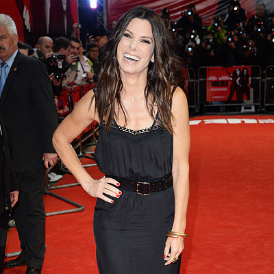 Sandra Bullock at The Heat Premiere in London