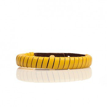 Jesse Stackable Bracelets With Leather Lacing