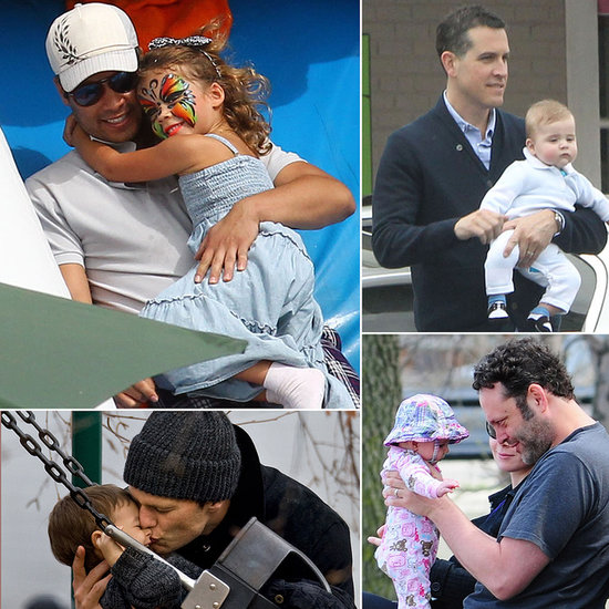 Famous Fathers Get Cute With Their Kids!