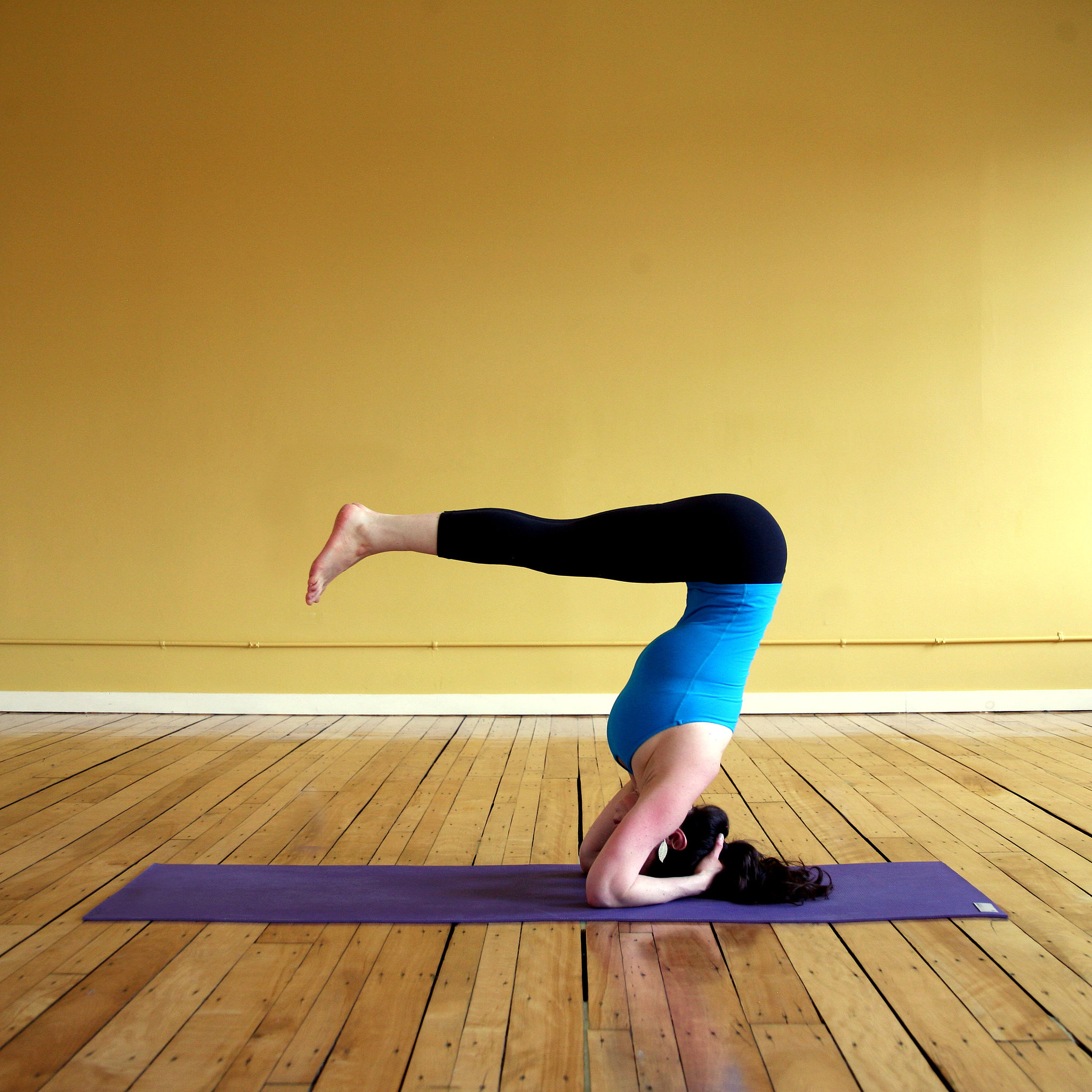 Headstand B   Five Yoga Poses to Fire Up Your Core ...