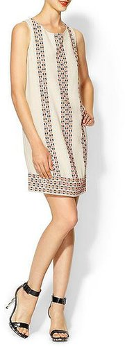 Joie Lawder Geo Native Embroidered Dress