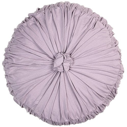 Lazybones - Rosette Round Cushion (Lavender) - Home