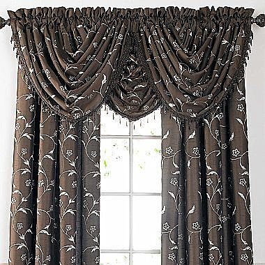 Chris Madden® Mystique Floral Window Treatments