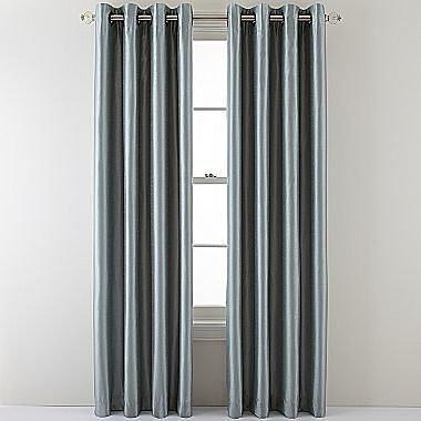 Royal Velvet® Plaza Grommet-Top Curtain Panel