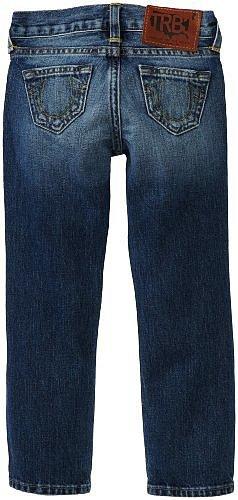 True Religion Boys 2-7 Herbie Slim Jean with Phoenix Pocket Detail
