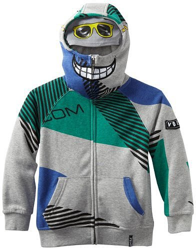 Volcom Boys 2-7 Vacation Full Zip Little Youth