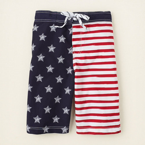 Americana swim trunks