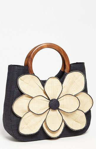 Mar y Sol 'Guadalupe' Straw Shopper