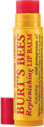 Burt's Bees Replenishing Lip Balm with Pomergranate Oil