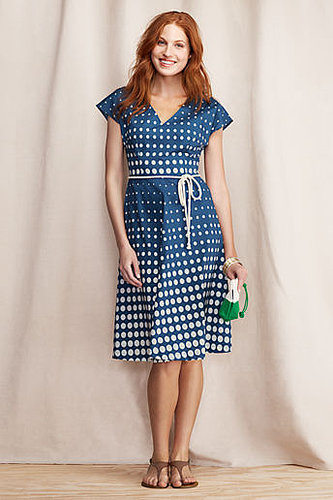 Women's Polka Dot V-neck Dress
