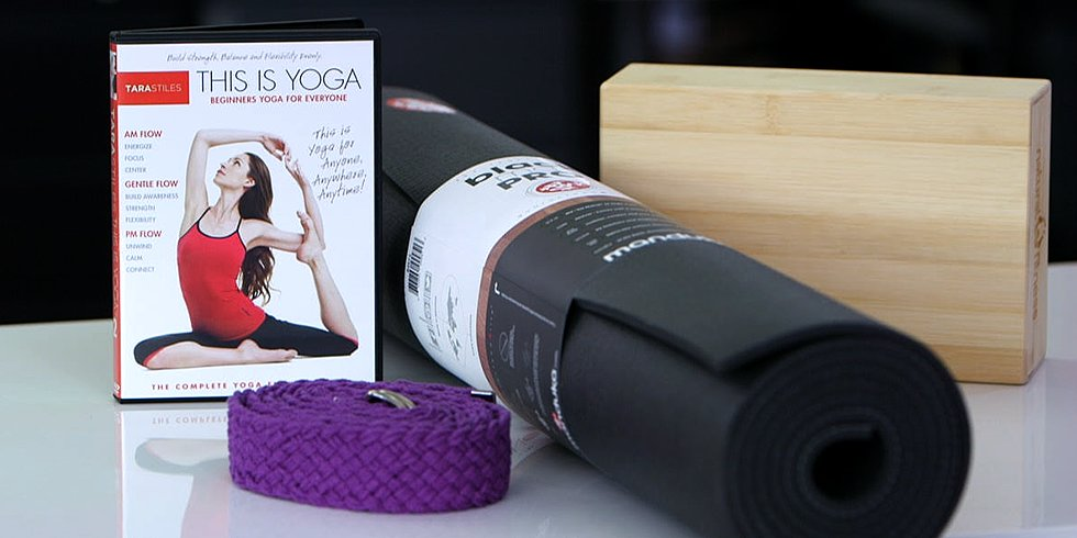 4 Essential Tools For a Home Yoga Practice