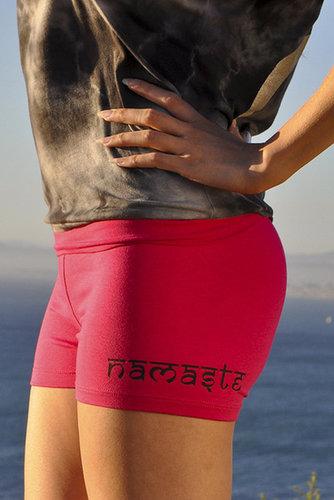 Jala Clothing Namaste Roll Down Yoga Short #NAMA81005