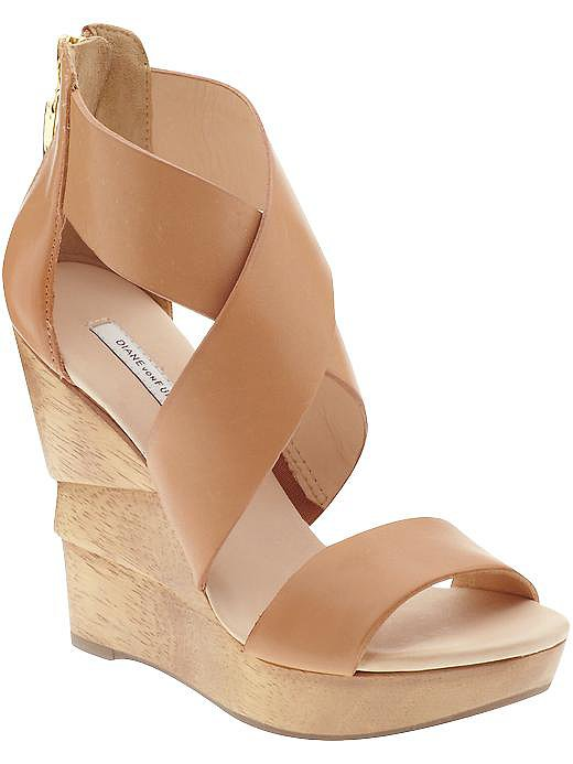 DVF's Opal wedges ($220, originally $295) would go with just about anything in your Summer wardrobe.
