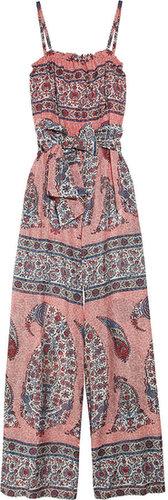 Paul & Joe Sister Katmandu printed cotton-blend voile jumpsuit