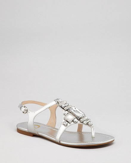 Joan & David Sandals - Kadison Jeweled Flat