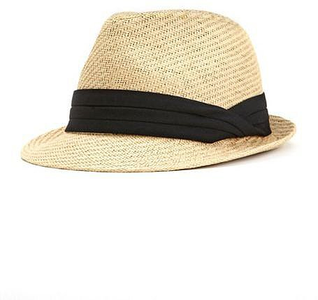 Lazy River Straw Fedora