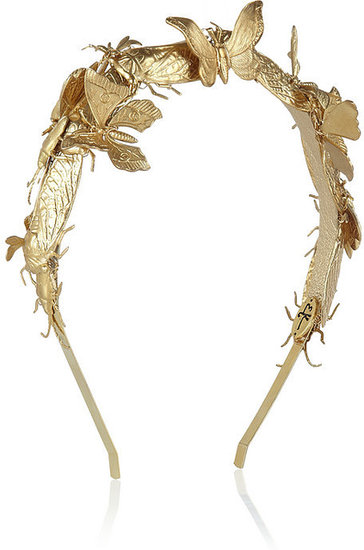 Eugenia Kim Milou embellished gold-tone headband