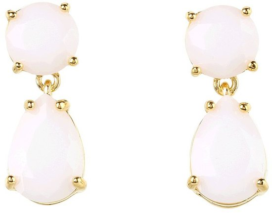 Kate Spade New York - Drop Earrings (White) - Jewelry