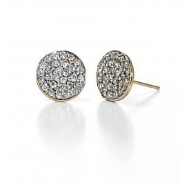 Sarah Chloe 14kt Jolie Diamond Earrings