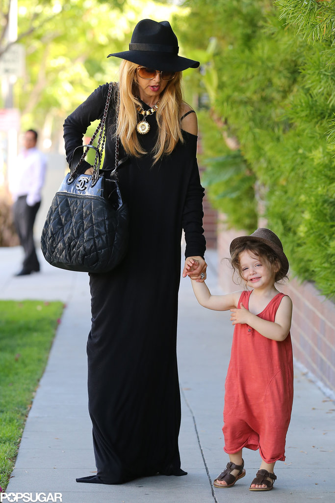 Rachel Zoe took her son Skyler for some shopping in LA on Thursday.